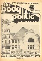 The Body Politic no. 2, January/February 1972