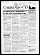Cheese Reporter, Vol. 126, No. 30, Friday, February 1, 2002