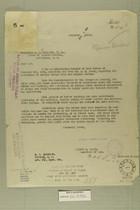 Letter from Newton D. Baker to Honorable G. B. Hudspeth, Nov. 9, 1920