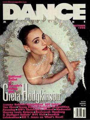 Dance Magazine, Vol. 72, no. 10, October,  1998