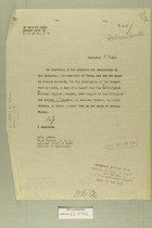 Combined Correspondence Discussing Various Border Incidents and Incursions, Sept. 22-29, 1919