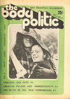 The Body Politic no. 4, May/June 1972