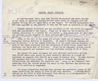 Draft Memo: Wartime Meals Division, Undated