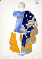 Agamemnon II, 1928 (w/c on paper)
