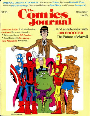 The Comics Journal, no. 60