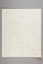 Letter from Sarah Pugh to Maria Weston Chapman, September 4, 1845
