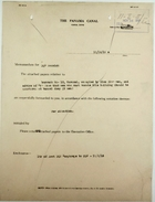 Correspondence re: Housing for Sam Frith and for Cripples at Corozal Farm, November 1915