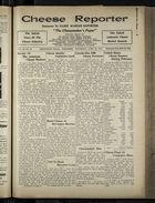 Cheese Reporter, Vol. 54, no. 33, Saturday, April 26, 1930