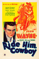 Ride Him Cowboy (1932): Shooting script