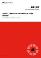 Congo, Dem. Rep. Operational Risk Report: Q4 2017