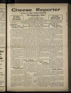 Cheese Reporter, Vol. 54, no. 11, Saturday, November 23, 1929