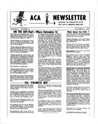ACA Newsletter, Vol. 2 no. 6, October 5, 1964
