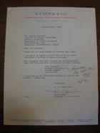 Thea Jacks to Stanley Milgram, October 19, 1966