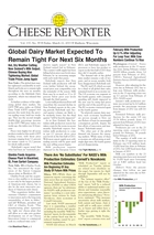 Cheese Reporter, Vol. 137, No. 39, Friday, March 22, 2013