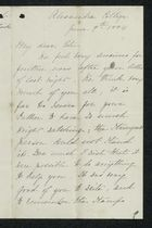 Letter from Charlotte Hearn to Edith Thompson, June 7, 1884