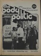 The Body Politic no. 1, November/December 1971