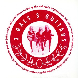 3 Gals 3 Guitars Band Flyer