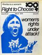Abortion is a Woman's Right to Choose, Issue No. 10, March 1976