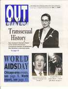 OUTLINES The Weekly Voice of the Gay, Lesbian, Bi & Trans Community Serving the Community Since 1987 Dec. 1, 1999