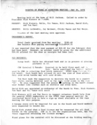Minutes of Board of Directors Meeting - May 30, 1978