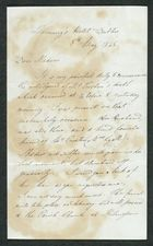 Letter from S. Bomford to Dear Madam, May 8, 1845