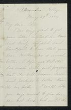 Letter from Charlotte Hearn to Edith Thompson, May 29, 1884