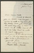 Letter from Phoebe Helen Howitt to Edith Thompson, January 11, 1889