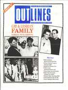 OUTLINES THE VOICE OF THE GAY AND LESBIAN COMMUNITY VOL 4, No. 8, JAN., 1991