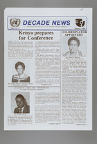 Decade News: A bi-monthly newsletter on the U.N. Decade for Women Conference