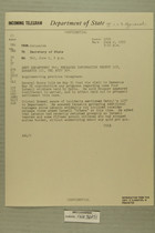 Telegram from William E. Cole, Jr. in Jerusalem to Secretary of State, June 2, 1955