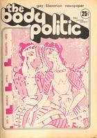 The Body Politic no. 3, March/April 1972