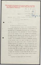 Decypher from Sir J. Jordan to United Kingdom Foreign Office re: Renunciation of Monarchy by Yuan Shi Kai, March 23, 1916