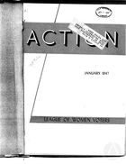 Action, vol. 3 no. 1, January 1947