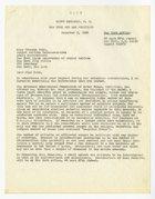 Dr. Harry Benjamin, Ms. Frances Kahn, December 3-1964