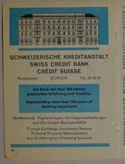 Schweizerische Kreditanstalt - Swiss Credit Bank / Credit Suisse