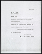 Letter from Ruth Benedict to Carl E. Guthe, May 29, 1939