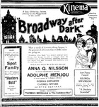 Broadway After Dark (1924): Shooting script