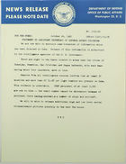 Statement by Assistant Secretary of Defense Arthur Sylvester, October 24, 1962