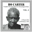 Bo Carter Vol. 3 (1934-1936)