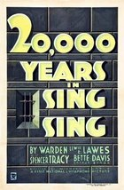 Twenty Thousand Years In Sing Sing (1932): Draft script