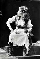 Photograph from a Scene from a Play at the Spanish Arts Theater, Tampa, FL.