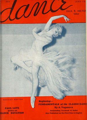 Dance (Magazine), Vol. 2, no. 3, June, 1937, Dance, Vol. 2, no. 3, June, 1937