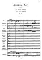 Anthem XIB, Let God Arise, HWV 256b, A Major