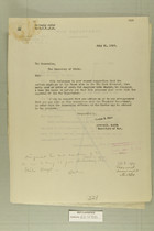Combined Correspondence Discussing Reopening of Customs Stations in Big Bend District, Texas