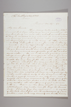 Letter from Sarah Pugh to Richard D. and Hannah Webb, March 27, 1844