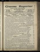 Cheese Reporter, Vol. 54, no. 26, Saturday, March 8, 1930