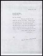 Copy of Letter from Ruth Benedict to Dr. Milo Hellman, October 30, 1936