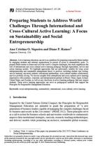 Preparing Students to Address World Challenges Through International and Cross-Cultural Active Learning: A Focus on Sustainability and Social Entrepreneurship