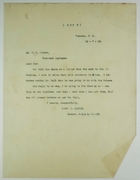 Copy of Letter from Captain J. Martin to Resident Engineer W. G. Comber re: Conversation with R. H. Hull on Dredging Division Housing, December 7, 1916
