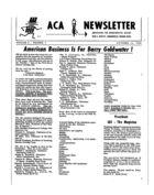 ACA Newsletter, Vol. 2 no. 7, October 14, 1964